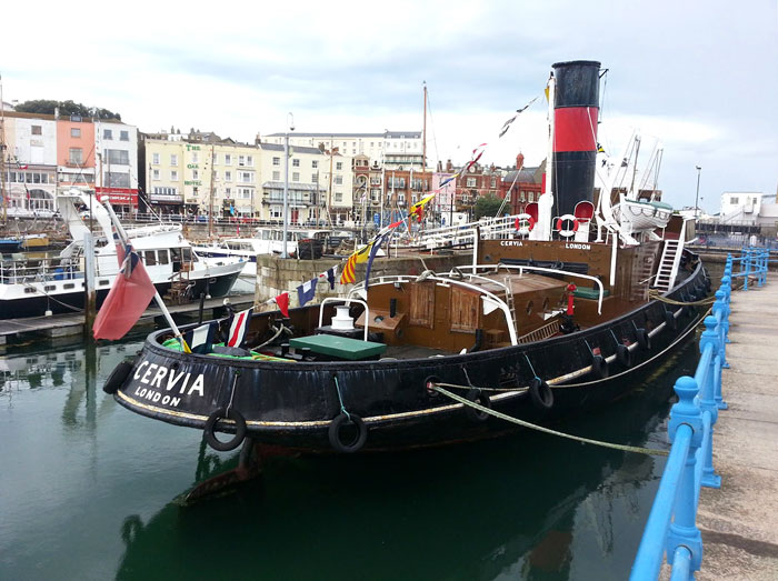 Steam Tug Cervia at Ramsgate Royal Harbour