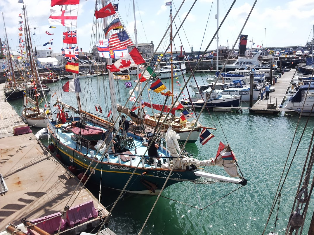 The 'Old Gaffers' at the Royal Harbour! Photos courtesy of Michael Child