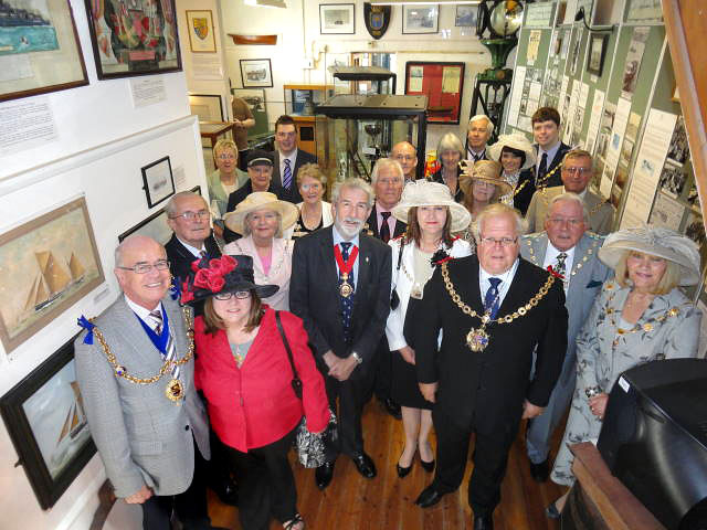 The Mayors Visit Ramsgate Maritime Museum